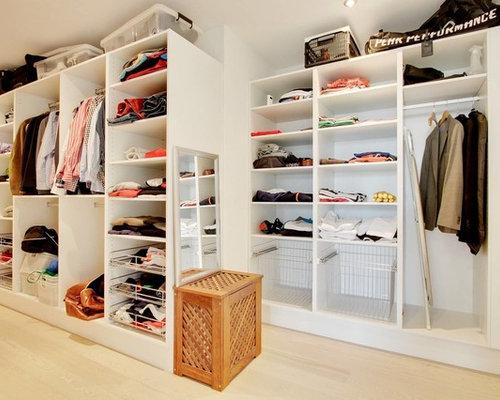 Moderne Garderoben idéer til moderne opbevaring og garderobe houzz