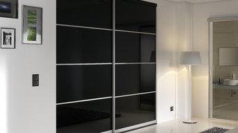 Glasvægge og- døre, skillevægge, skydedøre og ruminddeling