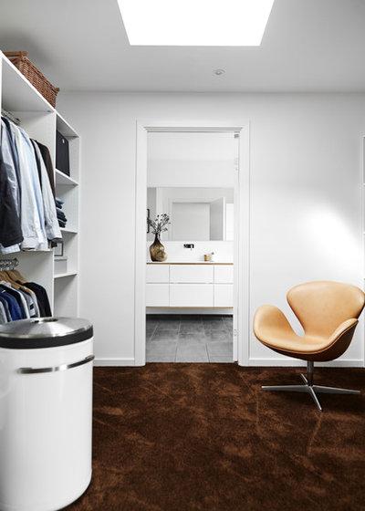 Moderne Opbevaring & garderobe by Mia Mortensen Photography