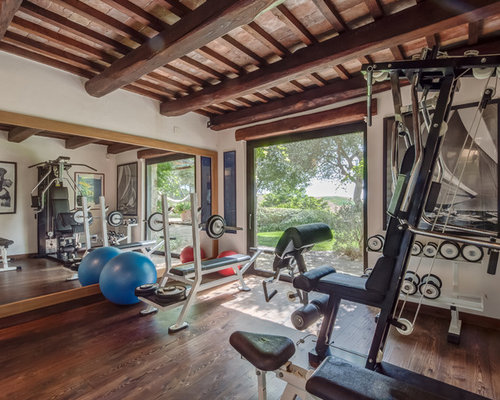 Best Farmhouse Home Weight Room Design Ideas Remodel