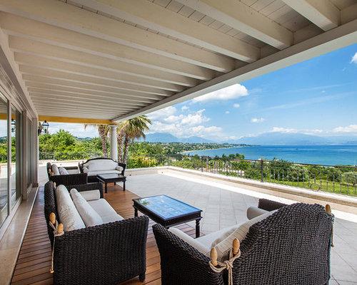 Foto e idee per arredare una casa tropicale for Piani di patio