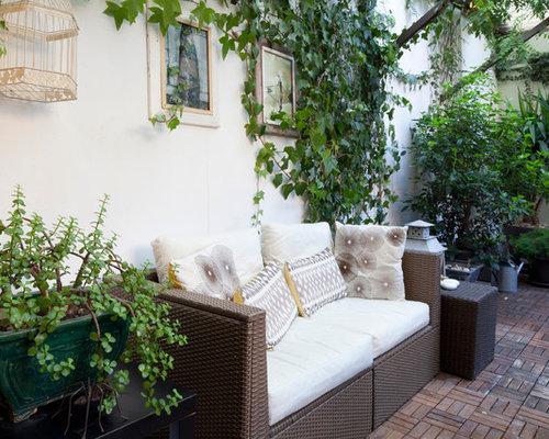 Foto e idee per arredare casa shabby chic style for Case in stile meridionale con avvolgente portico