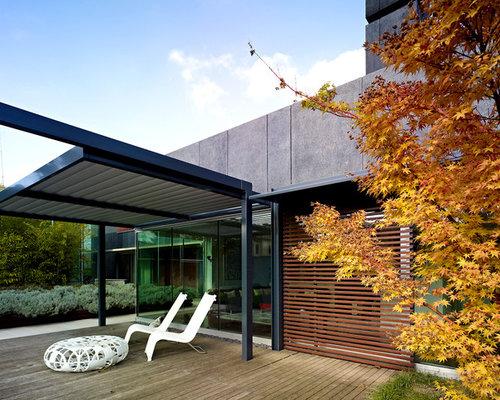 foto e idee per patii e portici patio o portico moderno