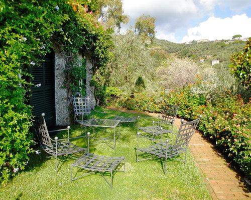 foto e idee per patii e portici - patio o portico mediterraneo con ... - Idee Patio Con Giardino