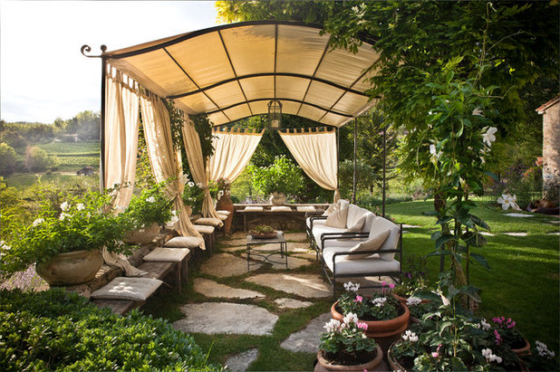 Country Patio by Silvia Longhi