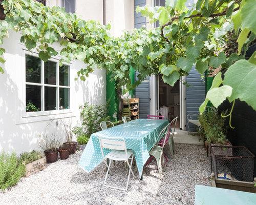 Foto e idee per giardini giardino in campagna - Giardino di campagna ...
