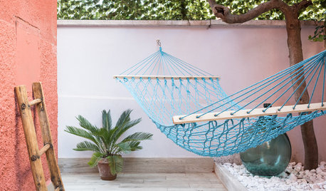 Photothèque : 33 aménagements se balancent dans le jardin