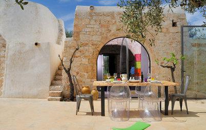 Architecture : Un trullo italien s'offre un cube de verre