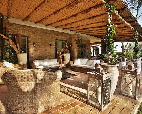 Foto e idee per verande veranda in campagna for Idee di veranda laterale