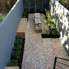 Modern Patio by Little Miracles Designs