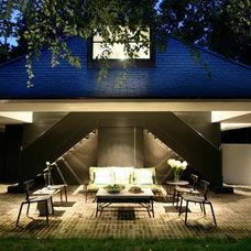 Contemporary Patio by Pursley Dixon Architecture