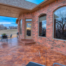 Traditional Patio by ShowMeOKC Real Estate Pros, powered by KW Elite