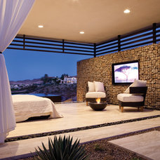 Contemporary Patio by EcoSmart Fire