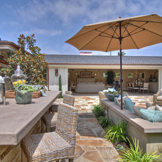 Beach Style Patio by Spinnaker Development