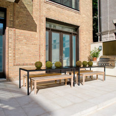 Contemporary Patio by Michael Hershenson Architects