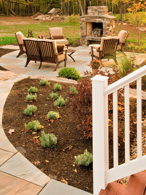 SaveEmail - Best Small Outdoor Fireplace Design Ideas & Remodel Pictures Houzz