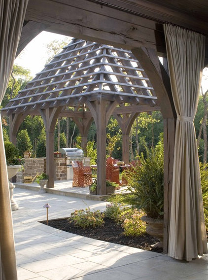 Traditional Patio by Period Homes, Inc.