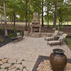 Traditional Patio by Dillard-Jones Builders, LLC