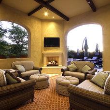 Traditional Patio by Ernesto Garcia Interior Design, LLC