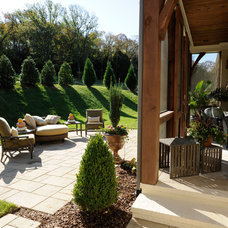 Traditional Patio by Castle Homes