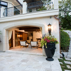 Traditional Patio by Eskuche Design
