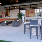 Rhee Residence Contemporary Patio San Diego By