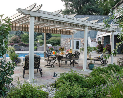 pergola 6 bedroom farmhouse. traditional backyard patio idea in other with a pergola 6 bedroom farmhouse