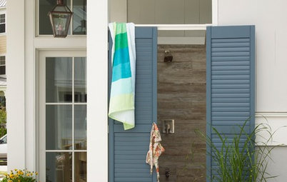 Outdoor Shower Style Steps It Up