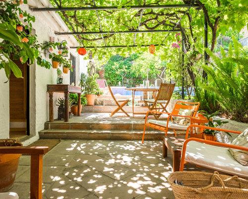 Fotos de terrazas dise os de terrazas de estilo de casa - Terraza casa de campo ...