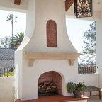 Outdoor Drapes Mediterranean Patio Los Angeles By