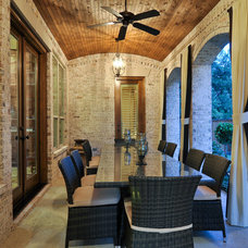 Traditional Patio by Larry Stewart Custom Homes