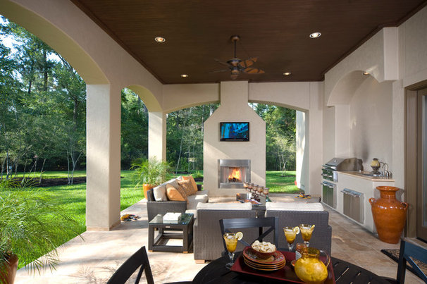 Contemporary Patio by Rice Residential Design