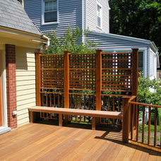 Traditional Patio by Peter Tschudy