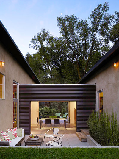 Modern Patio by Aleck Wilson Architects