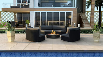 3-Pc Urbana Eclipse Outdoor Sectional Set by Harmonia Living