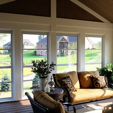Traditional Patio by K Architectural Design, LLC