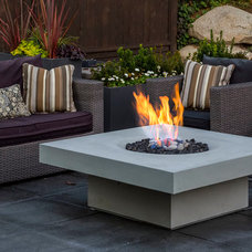 Transitional Patio by Solus Decor Inc.