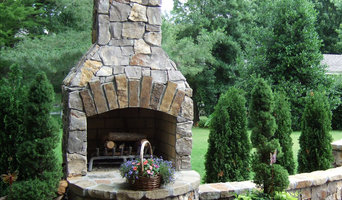 "36"" Standard Fireplace kit in Natural Stone"