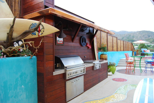 Beach Style Patio by 1 Man of the Cloth