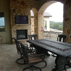Mediterranean Patio by Canyon Creek Homes, LP