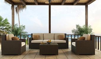4 Piece Hampton Sofa Set by Forever Patio