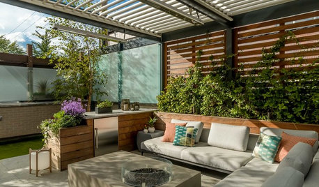 9 Shade Structures and Seating Combos to Inspire Your Patio Setup