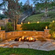 Traditional Landscape by The Boutique Real Estate Group