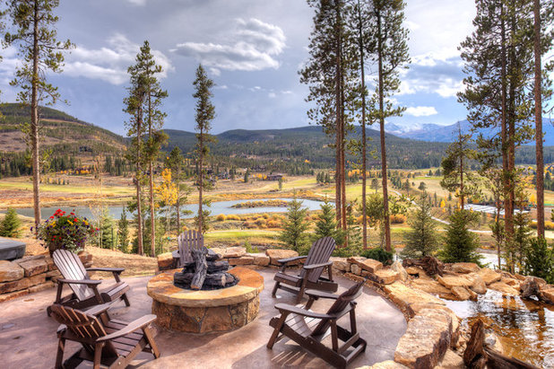 Montagne Terrasse et Patio by Pinnacle Mountain Homes