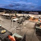 Outdoor Kitchen Concrete Countertops Contemporary