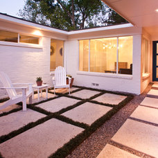 Modern Patio by Modern Craft Construction, LLC