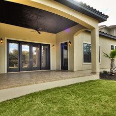 Traditional Patio by Adam Wilson Custom Homes