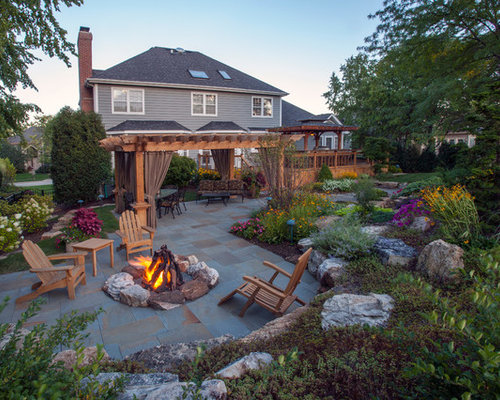 Chicago patio design ideas remodels photos houzz for Beautiful backyard patios