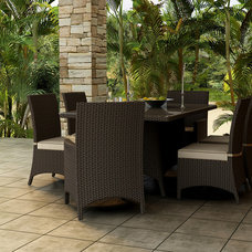 Contemporary Patio by PatioProductions