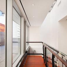 Contemporary Patio by TURETT COLLABORATIVE ARCHITECTS